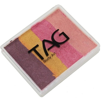 TAG Body Art & Face Paint Split Cake 50g - Golden Plum