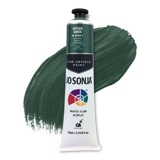 Jo Sonja Acrylic Paint 75ml S1 - Antique Green