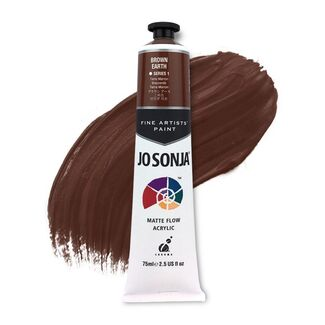 Jo Sonja Acrylic Paint 75ml S1 - Brown Earth