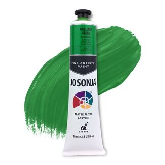 Jo Sonja Acrylic Paint 75ml S1 - Brilliant Green