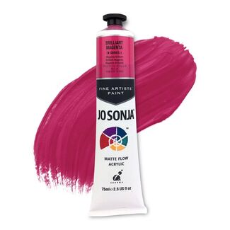 Jo Sonja Acrylic Paint 75ml S1 - Brilliant Magenta
