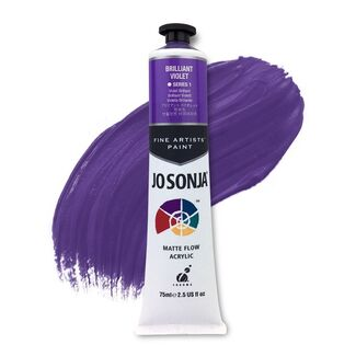 Jo Sonja Acrylic Paint 75ml S1 - Brillant Violet