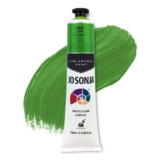 Jo Sonja Acrylic Paint 75ml S1 - Green Light