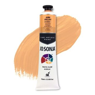 Jo Sonja Acrylic Paint 75ml S1 - Jaune Brilliant
