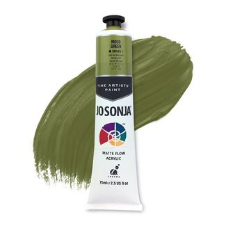 Jo Sonja Acrylic Paint 75ml S1 - Moss Green