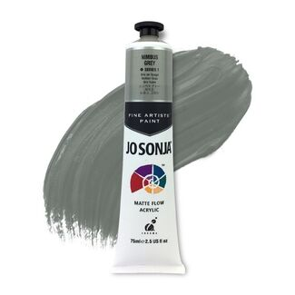 Jo Sonja Acrylic Paint 75ml S1 - Nimbus Grey