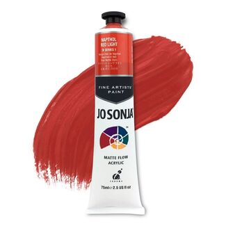 Jo Sonja Acrylic Paint 75ml S1 - Napthol Red Light