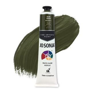 Jo Sonja Acrylic Paint 75ml S1 - Olive Green