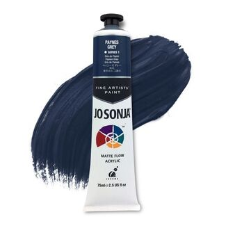 Jo Sonja Acrylic Paint 75ml S1 - Paynes Grey