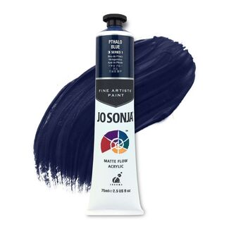 Jo Sonja Acrylic Paint 75ml S1 - Phthalo Blue