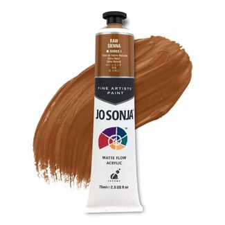 Jo Sonja Acrylic Paint 75ml S1 - Raw Sienna