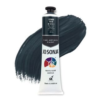 Jo Sonja Acrylic Paint 75ml S1 - Storm Blue