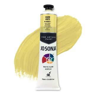 Jo Sonja Acrylic Paint 75ml S1 - Warm White