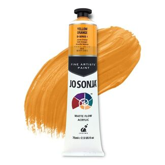Jo Sonja Acrylic Paint 75ml S2 - Yellow Orange