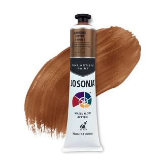 Jo Sonja Acrylic Paint 75ml S2 - Burnished Copper