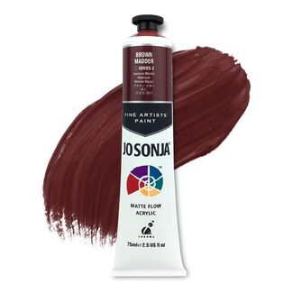 Jo Sonja Acrylic Paint 75ml S2 - Brown Madder