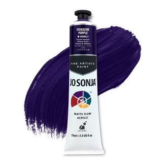 Jo Sonja Acrylic Paint 75ml S3 - Dioxazine Purple