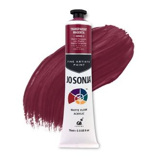 Jo Sonja Acrylic Paint 75ml S3 - Transparent Magenta
