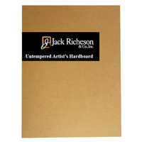 Richeson Untempered Hardboard Panel 8 x 10 Inch