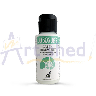 Jo Sonja Acrylic Iridescent Paint 60ml - Green
