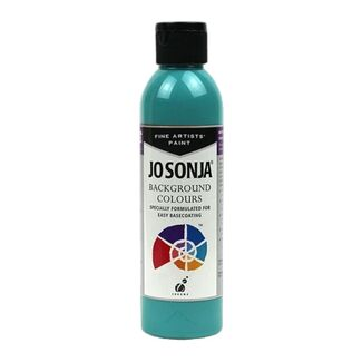 Jo Sonja Acrylic Background Paint 250ml - Blue Lagoon