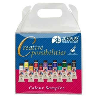 Jo Sonja Creative Possibilities Acrylic Paint Set - 12 x 20ml Tubes
