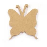 Kaisercraft Large Wooden Butterfly - Approx 9 x 10cm