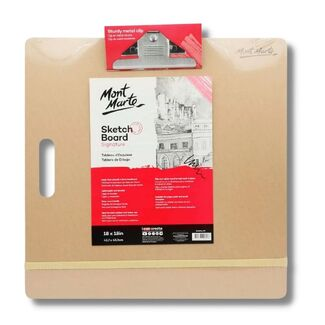 Mont Marte Sketch Board w/Clips Medium