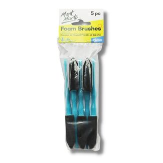 Mont Marte Studio Series - Foam Hobby Brush 25mm 5pc