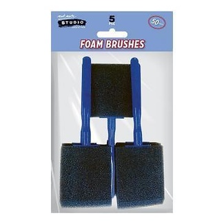 Mont Marte Studio Series - Foam Hobby Brush 50mm 5pc