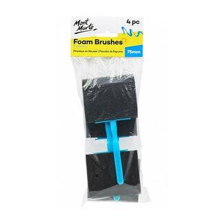 Mont Marte Studio Series - Foam Hobby Brush 75mm 5pc