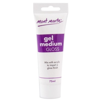 Mont Marte Acrylic Medium - Gloss Gel 75ml