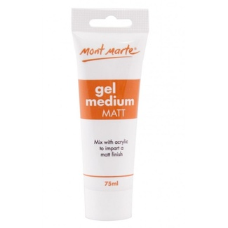 Mont Marte Acrylic Medium - Matt Gel 75ml