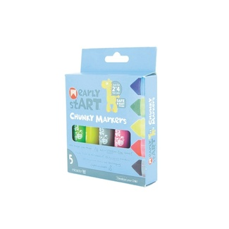 Micador Early Start Super Washable Chunky Markers PK 5