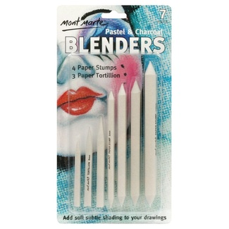 Mont Marte Pastel & Charcoal Blenders 7pc