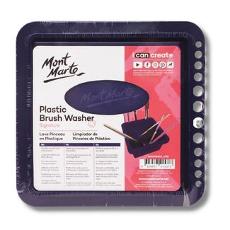 Mont Marte Twin Compartment Brushwasher Bucket