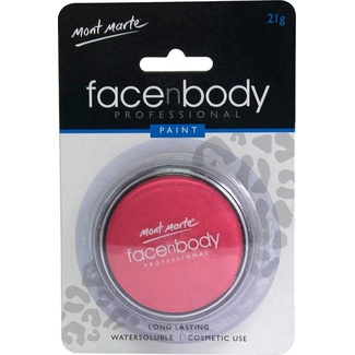 Mont Marte Face n Body Paint 21g - Pink