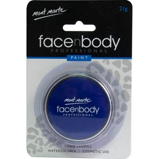 Mont Marte Face n Body Paint 21g - Blue