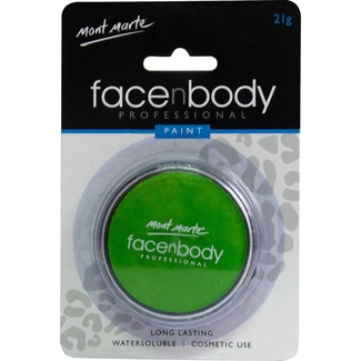 Mont Marte Face n Body Paint 21g - Light Green