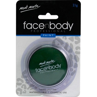 Mont Marte Face n Body Paint 21g - Green