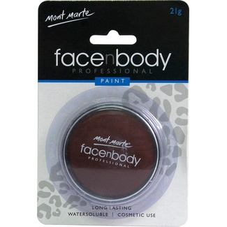 Mont Marte Face n Body Paint 21g - Brown