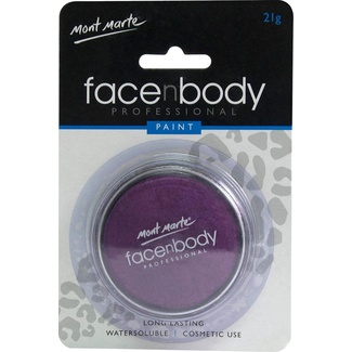 Mont Marte Face n Body Paint 21g - Pearl Purple