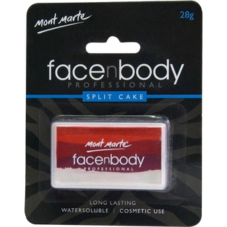 Mont Marte Face n Body Split Cakes - Coral Wonders