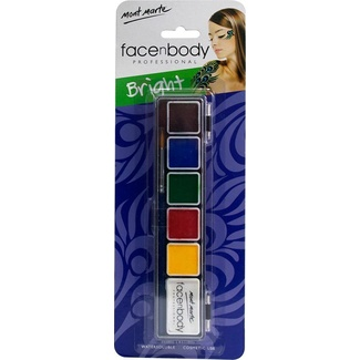 Mont Marte Face n Body Paint Kit 6 colours - Bright