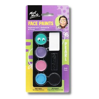 Mont Marte Kids Face Painting Set - Pearl