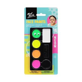 Mont Marte Kids Face Painting Set - Neon