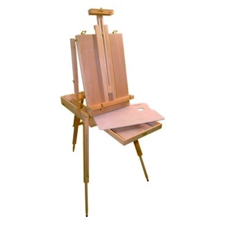 Mont Marte Floor Easel - French Box Style Extra Large Beech Wood