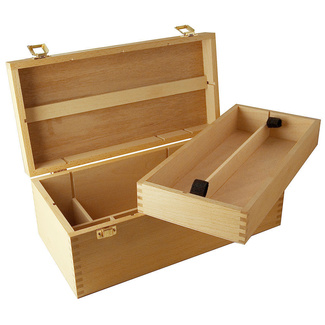 Mont Marte Artists Storage Box Beech Wood