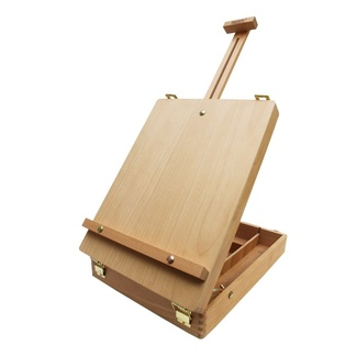 Mont Marte Desk Easel - Medium Tabletop Box Style Beech wood
