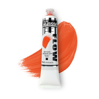 Matisse Flow Acrylic 75ml S7 - Matisse Orange Deep